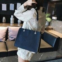 CROWDALE chaîne sac à bandoulière célèbre concepteur rivet sacs à main femmes de luxe sacs de messager pour les femmes bolsa feminina torebka damska