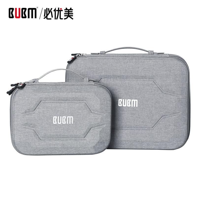 BUBM-حقيبة محمولة من EVA لجهاز ipad مقاس 9.7 بوصة ، ملحقات الاستقبال الرقمية ، حقيبة محمولة مع كابل USB