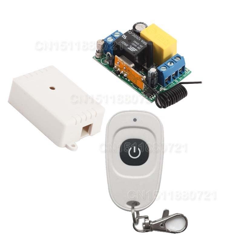 220V البسيطة عن بعد التبديل 315/433.92 نسأل دعم RF اسعة * رابط RM2 RM-برو رمز التعلم استقبال ضوء مصباح LED الطاقة عن ONOFF