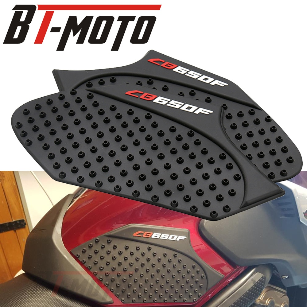 Мотоциклетная накладка на топливный бак противоскользящие защитные наклейки наколенники боковые наклейки аксессуары для Honda CB650F 2014-2017
