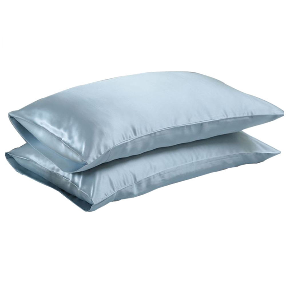 High Standard Pure Satin Silk Soft Pillowcase Cover Chair Seat Bedding pillow Cover Square Pillow Ca