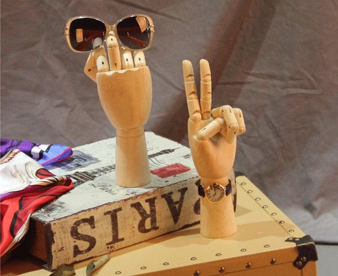 무료 배송!! 패션 스타일 나무 손 마네킹 손 모델 나무 손 판매