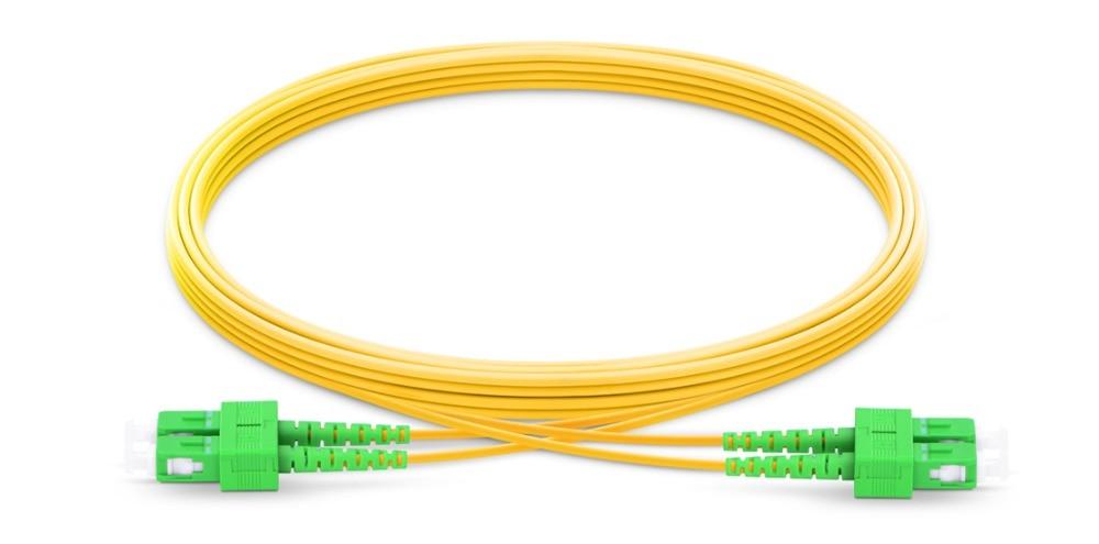 FirstFiber 5 m SC APC a SC APC G657A 2 núcleos Cable...