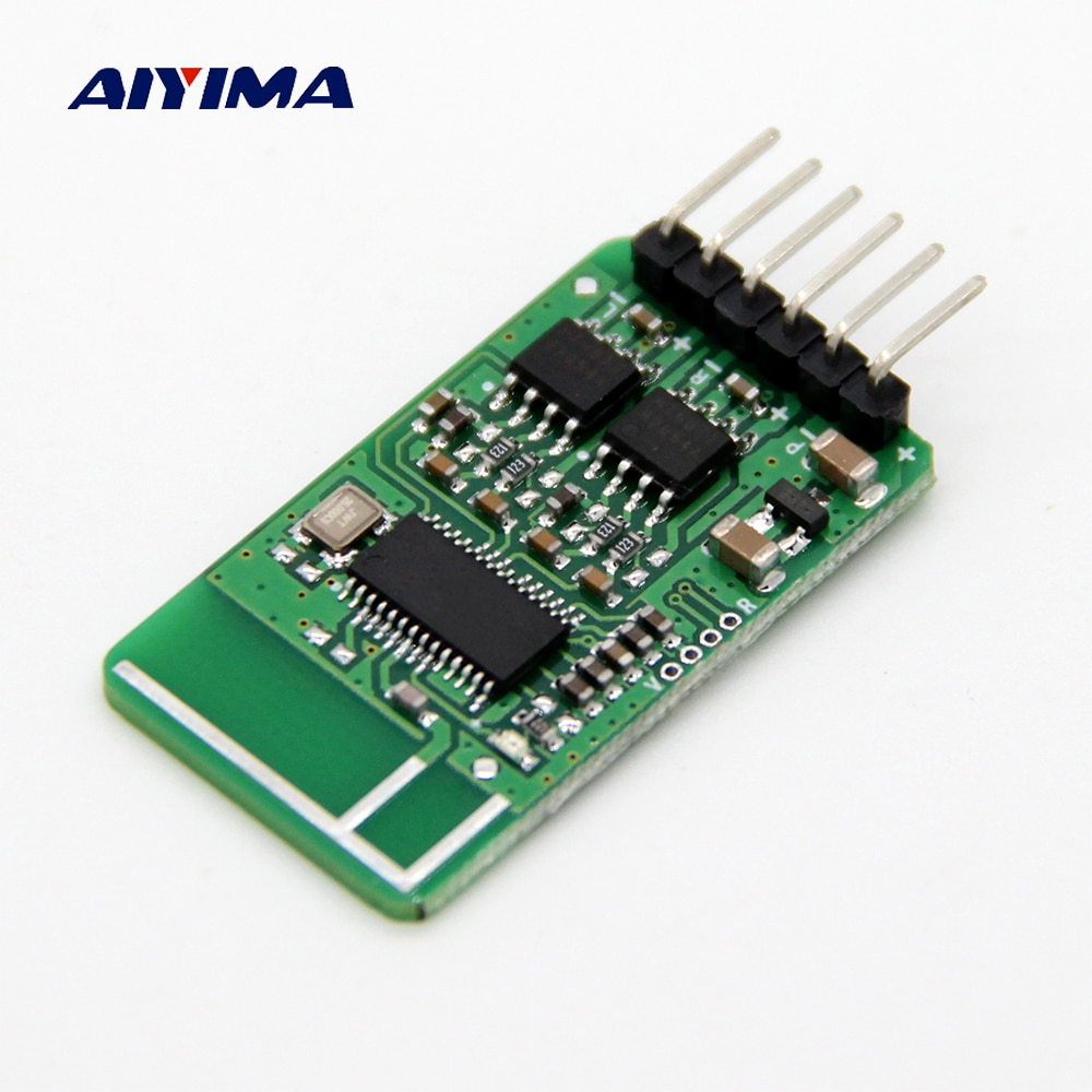 AIYIMA-placa amplificadora Bluetooth 5,0, altavoz receptor de Audio estéreo, 2x5W, Amplificador de...