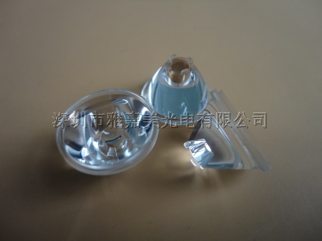 High-power LED Lens Diameter 20mm 15 degrees,30 degrees,45 degrees CREE XML T5/T6/U2 Lens , XLamp XM-L2 XHP50 lens