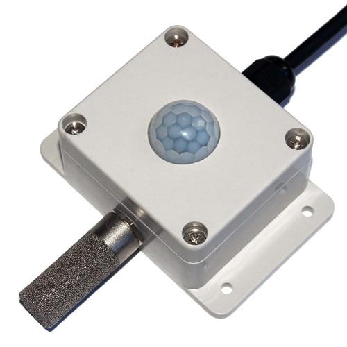 RS485 illuminance and temperature and humidity integrated sensor Illuminance sensor Temperature and humidity sensor