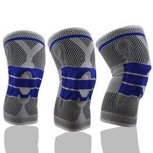 Kyncilor soutien du genou protéger la forme physique en cours dexécution Sport bretelles genouillère élastique en Nylon genouillères Compression genouillère manchon