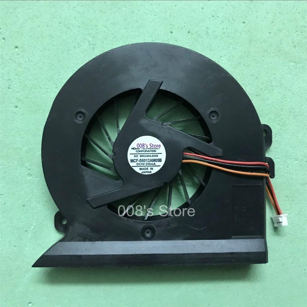 Новый Кулер Для процессора, вентилятор для Samsung NP-R503 R505 R507 R508 R509 R510 R610 R700 R710 P510 P560 P580 P710 MCF-919BM05