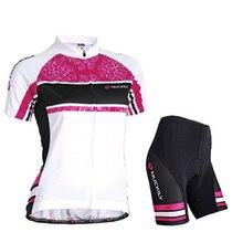 2020 vélo jersey ensemble été femmes cyclisme robe vélo vêtements vtt vêtements course uniforme femme en plein air sport costume maillot