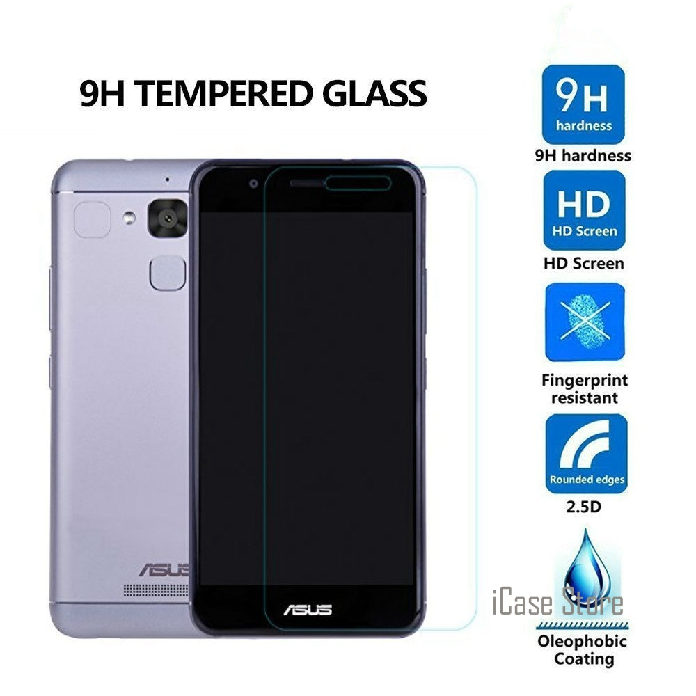 Protector de pantalla de vidrio templado antigolpes 9H para Asus Zenfone 3...