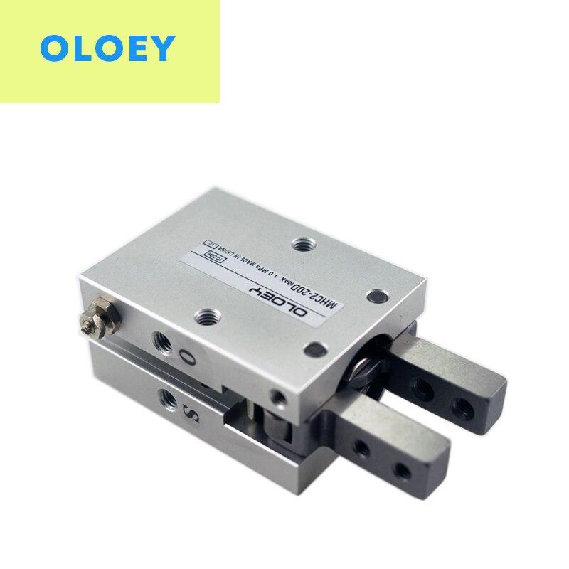 MHC2 MHC2-16D MHC2-16D2 MHC2-16S MHC2-16S2 MHC2-16C MHC2-16C2 SMC tipo neumático cilindro Angular estilo aire pinza/estándar