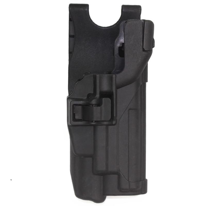 Airsoft pistolera para el cinturón linterna táctica caza IPSC combate Paintball Molle Gun fundas de cintura para Sig 226 229