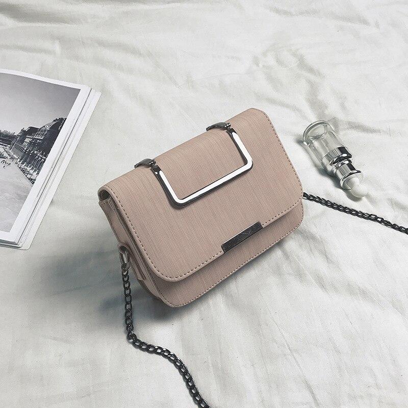 062618 nueva bolsa de hombro de moda femenina con solapa pequeña para mujer