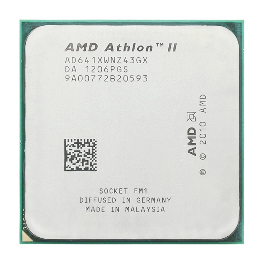 AMD Athlon II X4 641 de 2,8 GHz/Quad-core/CPU procesador/AD641XWNZ43GX/Socket FM1