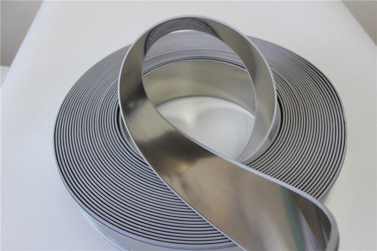 Letras de señal Led, tapa de ajuste, canal, bobina de letras, rollo de aluminio de Color Natural, letras luminosas 3D, Material 60mm