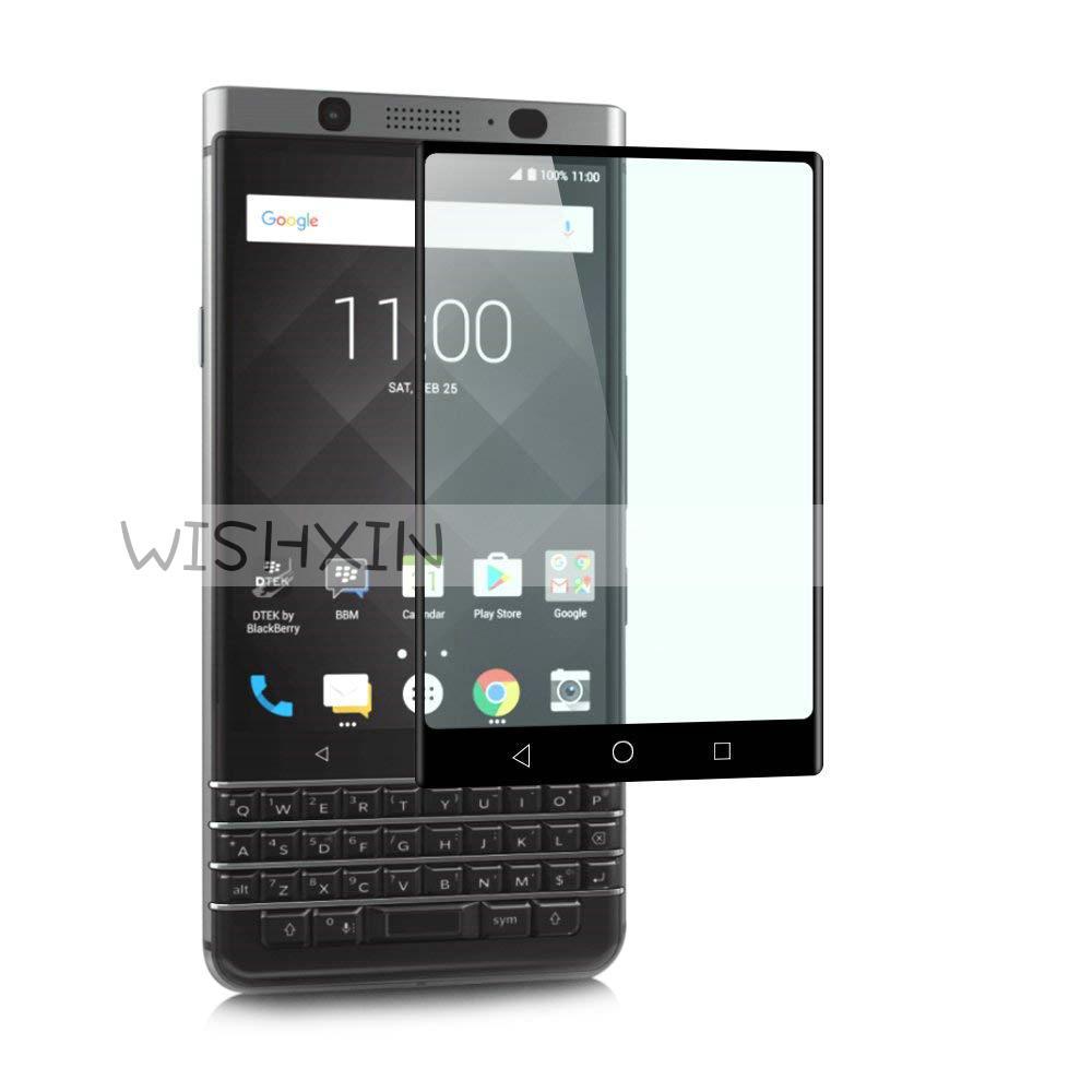 Закаленное стекло для Blackberry Keyone полное покрытие 9H защитная пленка Взрывозащищенная защитная пленка для Blackberry Keyone DTEK70