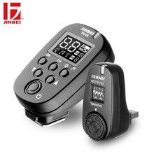 JINBEI TR-V6 Tetik 2.4G Kablosuz Radyo Stüdyo Flaş Verici + Alıcı Seti Fotoğraf Aydınlatma Uzaktan Kumanda
