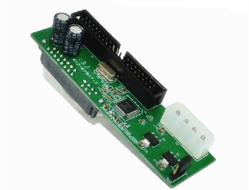 Adaptador de unidad óptica Sata rotativo ide, tarjeta de transferencia ide, interfaz...