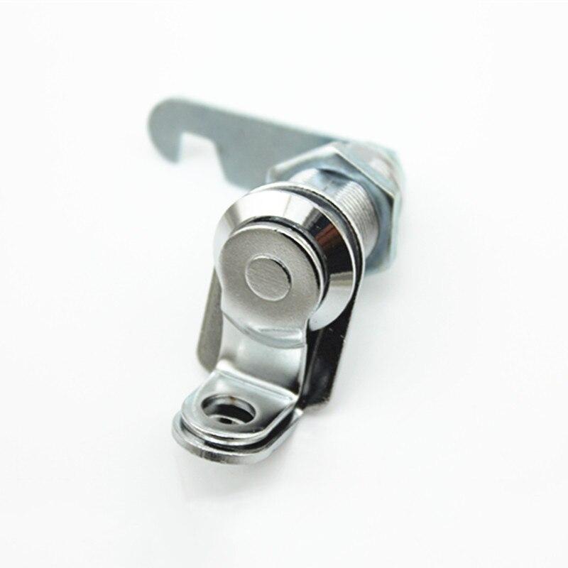 DHL Grátis 100 pçs/lote 30 milímetros Cam Lock Cadeado Toolbox Gabinete Mailbox Gaveta Armário Roupeiro Armário de Arquivo com a Língua