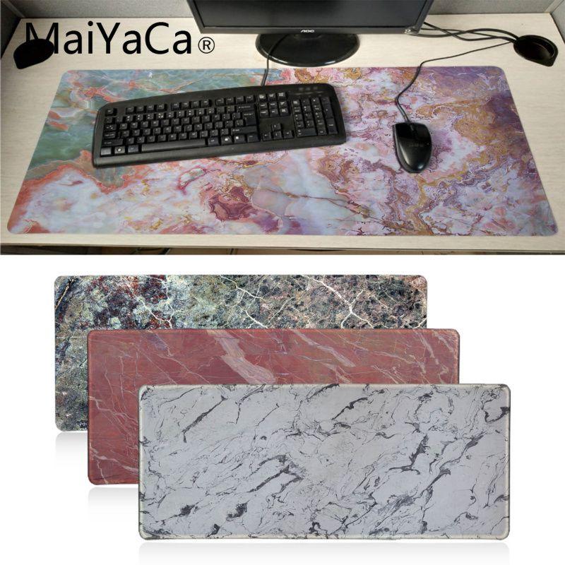 MaiYaCa ваши собственные коврики красочные мраморные Игровые мыши для ноутбука коврик для мыши резиновый, большого размера игровой коврик для мыши Роскошный уникальный дизайн коврик для мыши