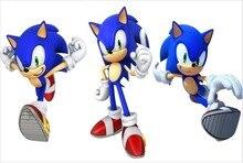 Custom Canvas Wall Decor Super Smash Bros Poster Super Sonic Muurstickers Sonic the Hedgehog Decals Kid Slaapkamer Behang #481 #