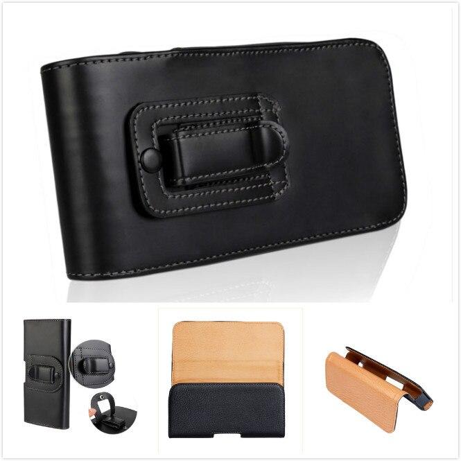 Bolso de cuero de KAILYON con Clip para cinturón para Nokia Lumia...
