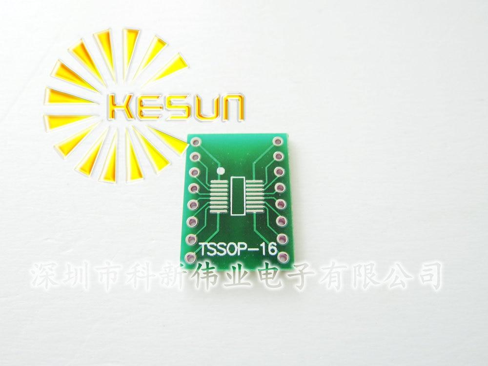 10 pcs TSSOP16 SSOP16 MSOP16 SO16 SOP16 SOIC16 turn DIP16 1.27mm/0.65mm IC adaptador Soquete/Adaptador placa/PCB Conector