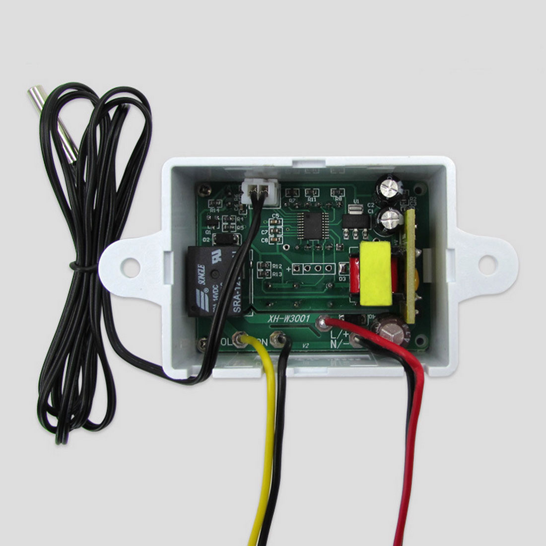 Nuevo-50 ~ 110C termostato Digital inteligente AC 220V 12V 24V 10A interruptor regulador de temperatura Digital