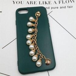 Dower marca 5 pçs liga pérola corrente do telefone móvel ornamentos clássico atraente telefone pendurado ornamentos/acabamento/decoração