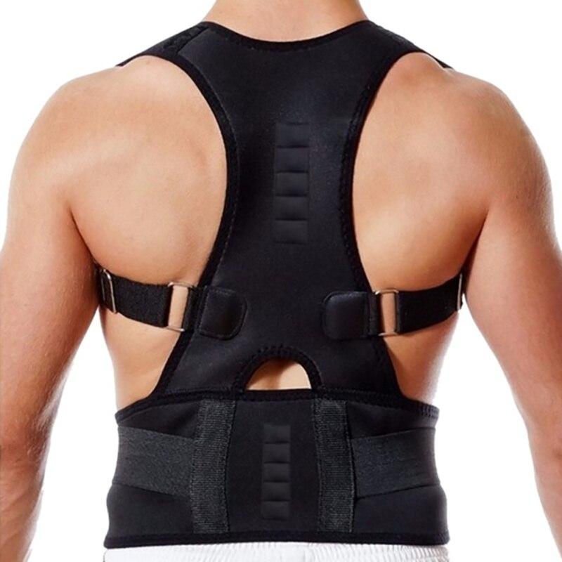 2020 Защита спины для взрослых Магнитная коррекция пояса формирование тела коррекция осанки хунчбэк позвоночник