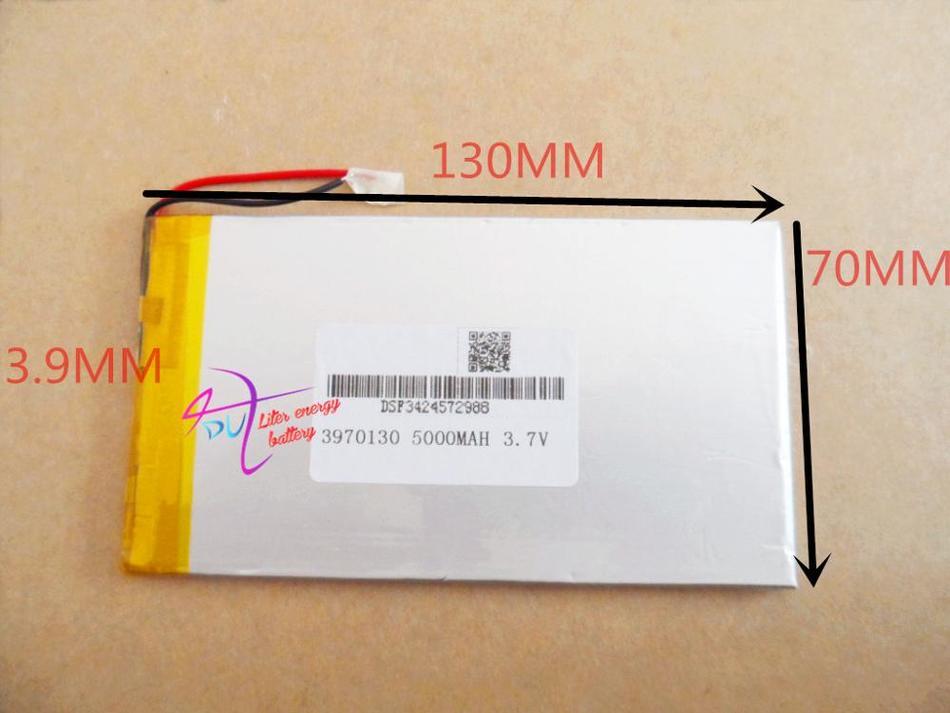 Baterias de polímero de lítio 3970130 3.7 V ultra-fino 5000 mAh batte de lítio V812 V811 computador tablet personalizado