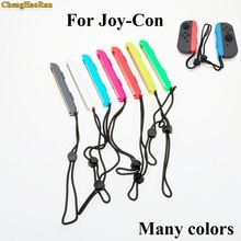 ChengHaoRan 10colors 1pcs For Switch Joy-Con Wrist Strap Sling For Nintend Switch NS NX Console Joy-Con Wrist Wraps Band Strips