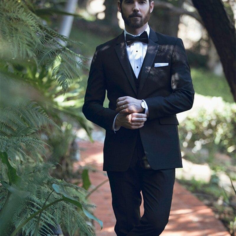 New Arrival Mens Formal Wear Terno Casamento Custom Male men Suit Slim Fit Wedding Suits For Men (jacket+pants +vest)
