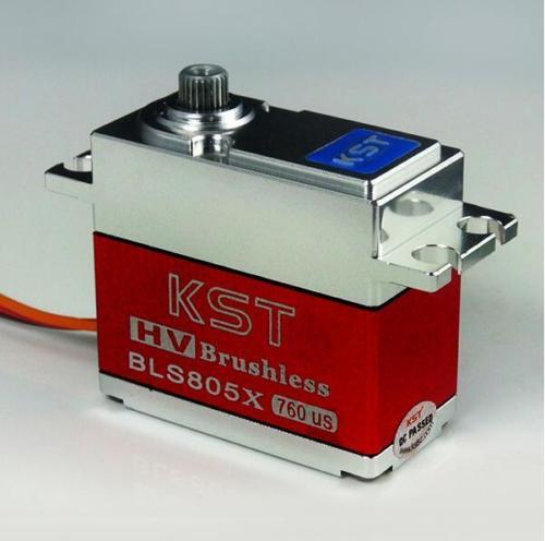 KST BLS805X HV Brushless servo High Voltage Metal Gear Servo for 550-700 RC heli