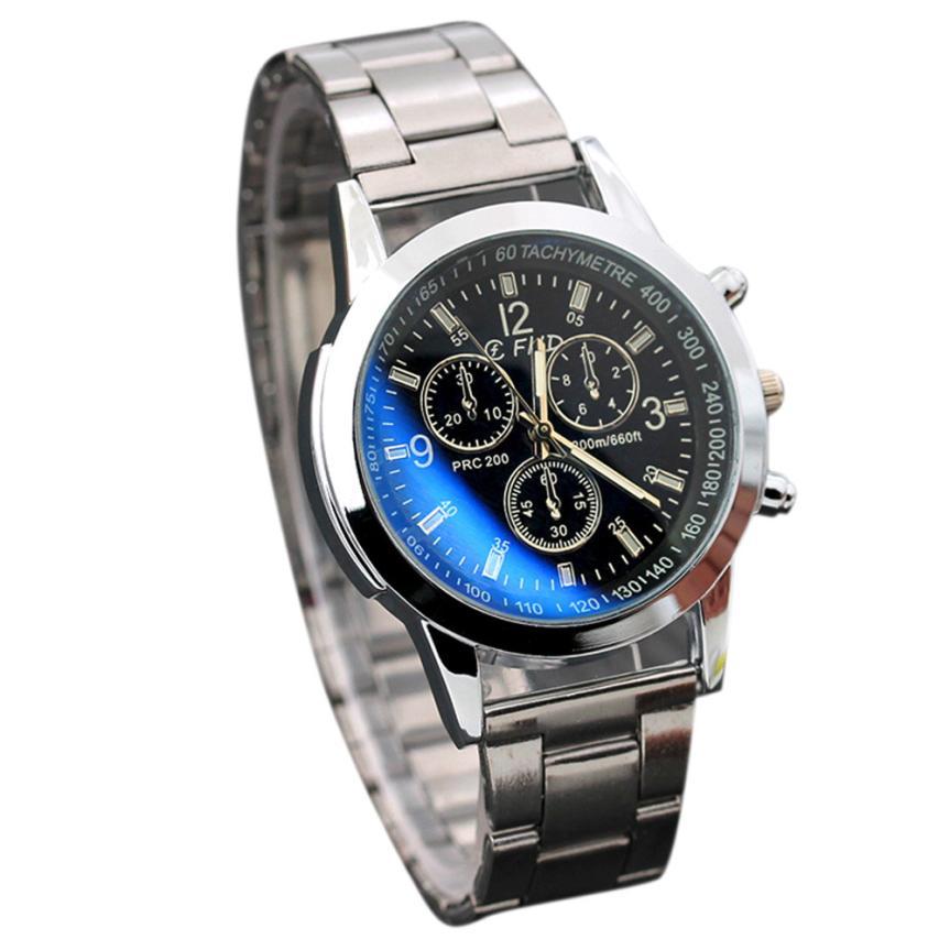 2019 Mens Classic Quartz Analog Watch Luxury Fashion Sport Wristwatch Stainless Male Watches Relogio