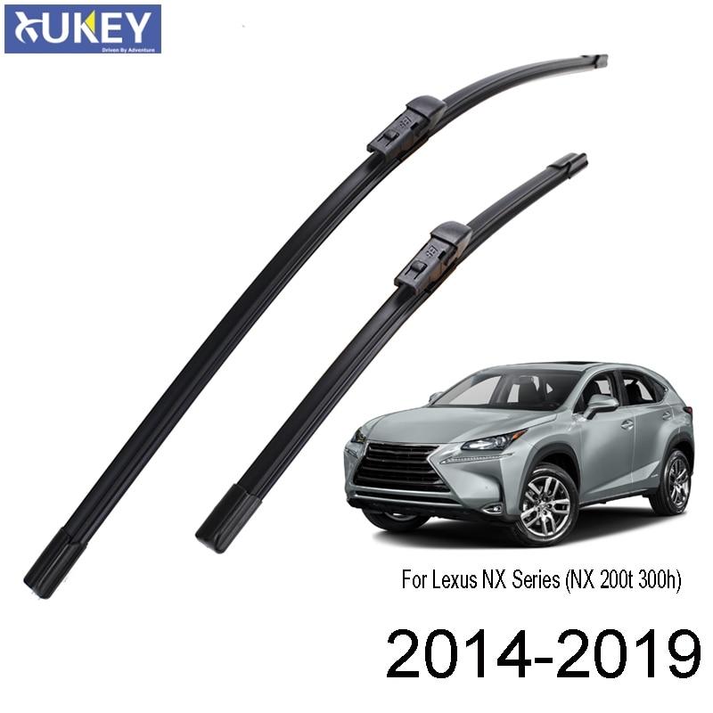 "Xukey Limpiaparabrisas delantero Set de hojillas Kit para Lexus NX 200 300 NX200 NX200t NX300h 2014, 2015, 2016, 2017, 2018 26 ""16"""