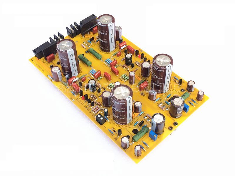 2pcs A30 Class A Power Amplifier Board Stereo HiFi 30W+30W Audio Amplifier Board Reference UK Sugden Circuit