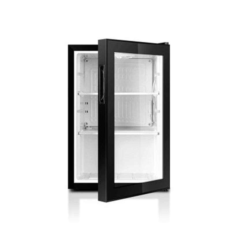 Casa geladeira única porta mini geladeira freezer nevera frigobar geladeira escritório/jardim de infância congelador