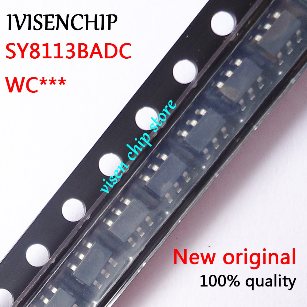 10 Uds SY8113BADC SY8113B SY8113 (WC5ZI WC4FZ WC.) SOP23-6
