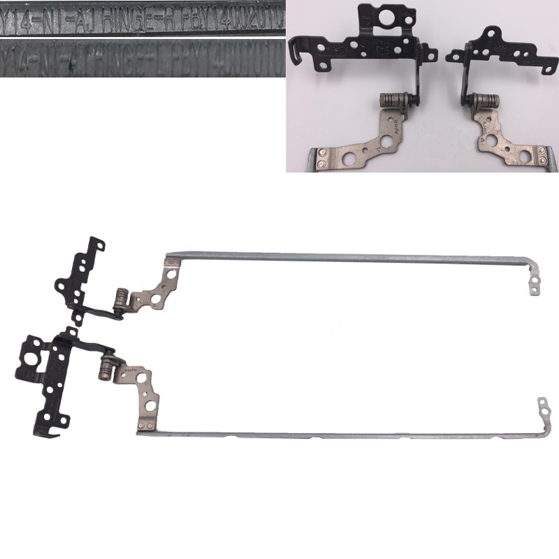 New Laptop Hinges for HP pavilion 15-P series For Not Touch Screen Models P/N: L:FBY14001010 R:FBY14002010