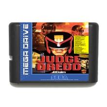 Juge Dredd 16 bits MD carte de jeu pour Sega Mega Drive pour Genesis