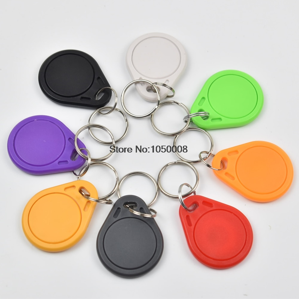 1000 шт./лот RFID 13,56 МГц nfc тег маркер кольцо для ключей IC метки для части nfc телефон и планшет