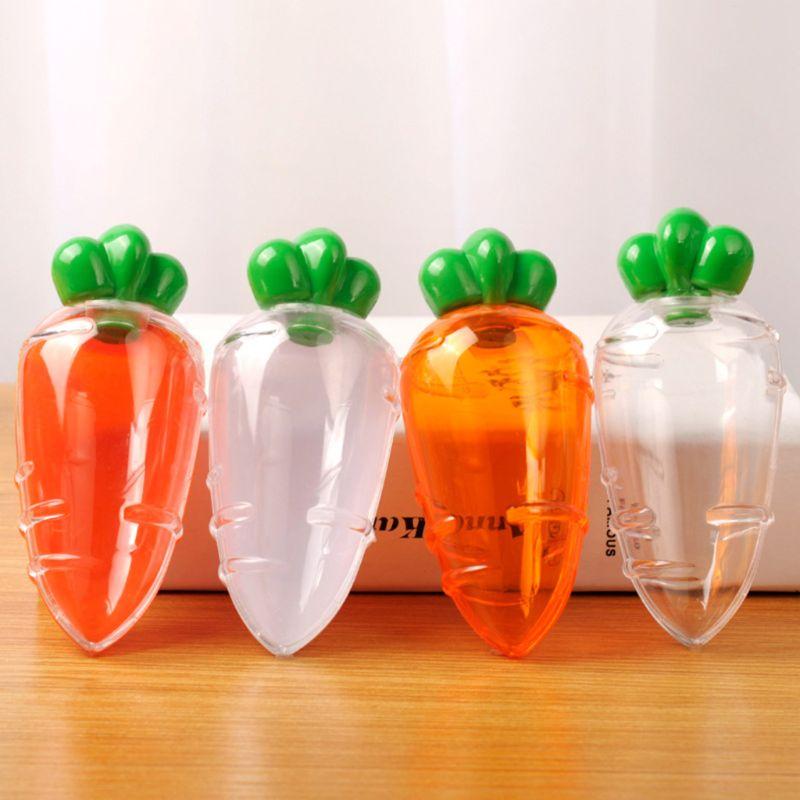 1 pc criativo em forma de cenoura caixa de doces caixa de armazenamento de chocolate caixa de presente festa de casamento chá de bebê favor suprimentos decoração