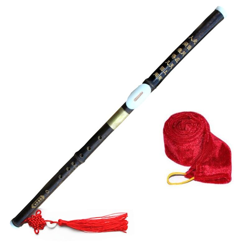 Flauta de bambú Bawu, Flauta Transversal para tocar Bawu, llave F/G, Flauta Transversal de bajo Alto, instrumentos musicales Flauta para principiantes