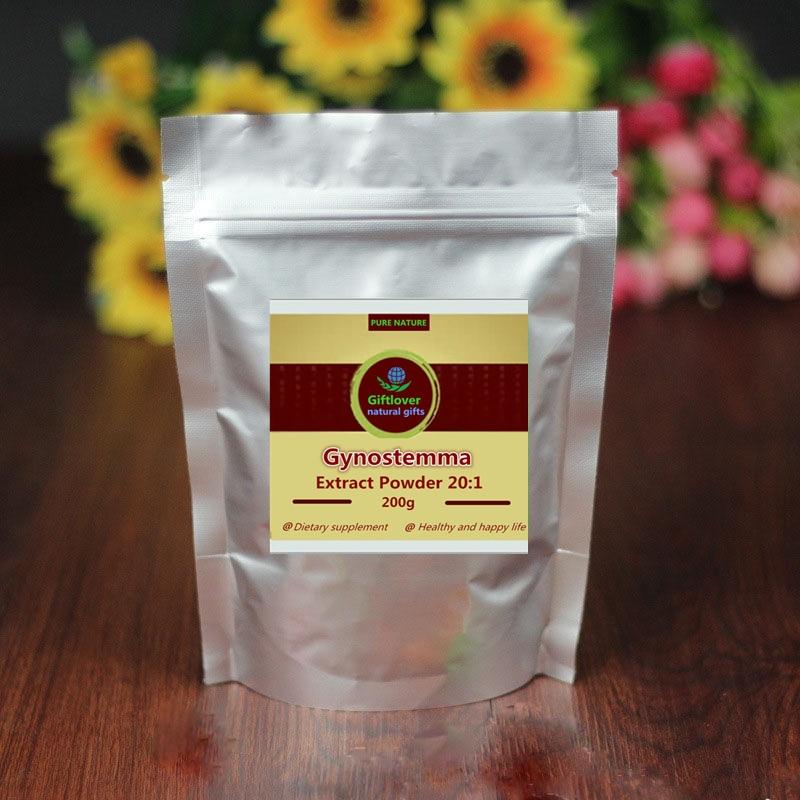 100-1000g,Control Blood Pressure / Sugar / Fat,Hot Sale 7 Leaves Gynostemma Pentaphyllum Extract Gypenosides Powder,Jiaogulan