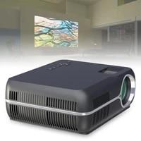 4200LM 1080P video Home Cinema LED HD videoprojecteur avec stereo Surround Double cornes et 150 pouces grand ecran de Projection