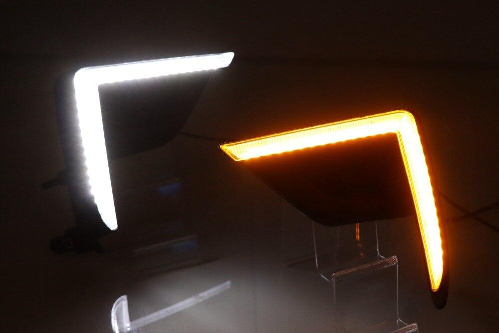 Luz led diurna de alta luminosidad para luz antiniebla Toyota Prado