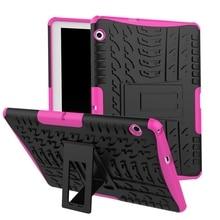 Capa resistente para tablet, capa para huawei mediapad t3 10 AGS-W09/l09/l03 9.6 polegadas honor play pad 2 9.6 capa + presente