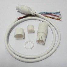Câble POE LAN étanche pour vidéosurveillance module de carte caméra IP   Avec connecteur RJ45 résistant aux intempéries, à statut unique