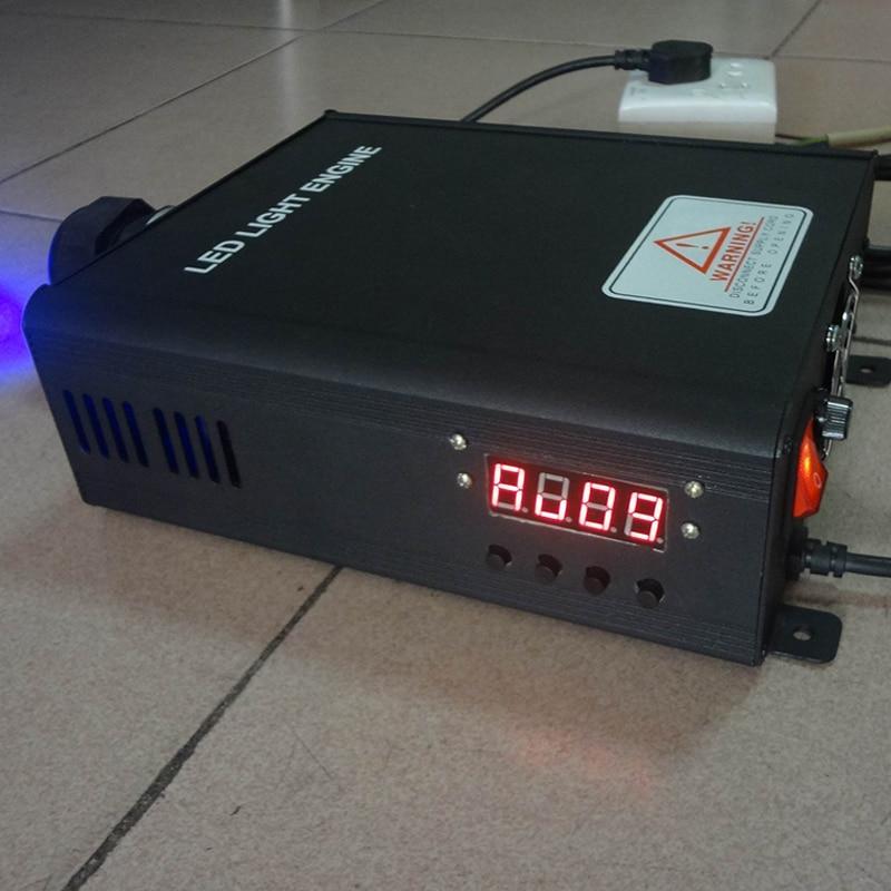 Motor de fibra DMX512 de 45 W, motor de luz de fibra DMX led, motor de fibra DMX, señal AC100 ~ 256V y dmx 512